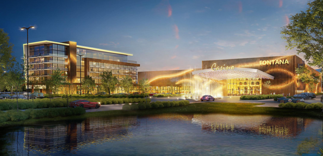 Rendering of the proposed Casino Fontana.