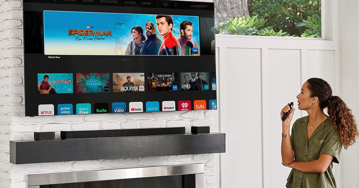 Vizio's midrange 65-inch 4K QLED TV is $600 -