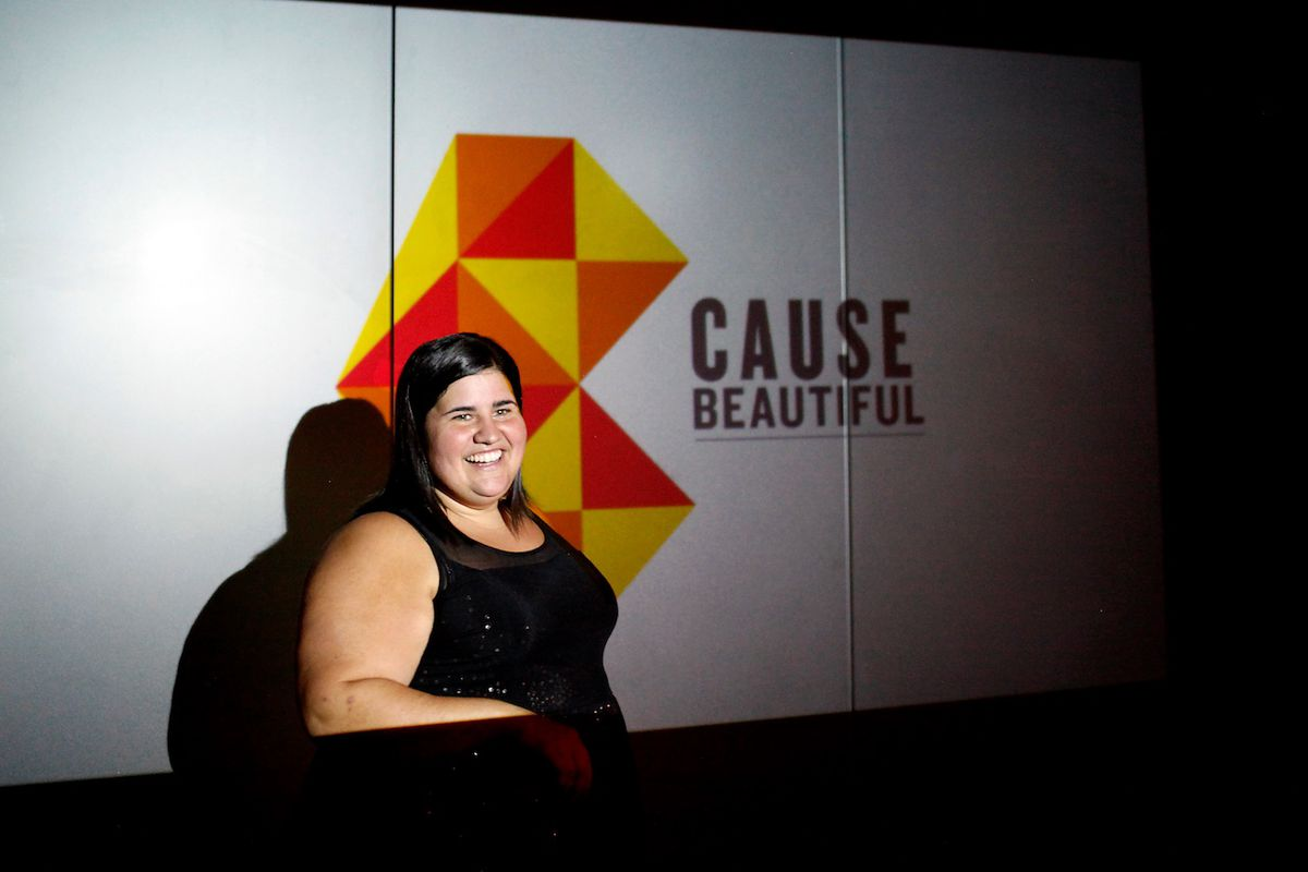 Luanne Dietz, who runs Cause Beautiful