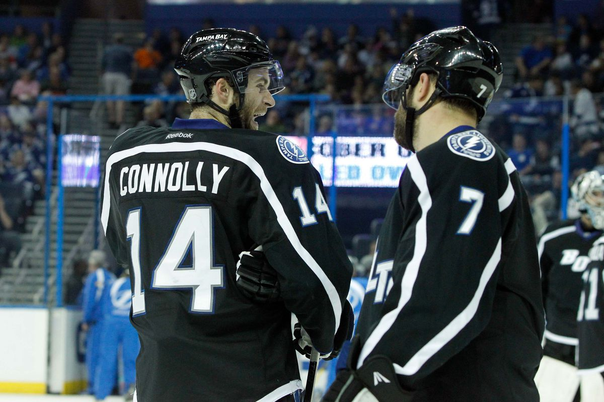 Connolly and Gudas were the only members of the 2010 draft class to play for the Lightning.