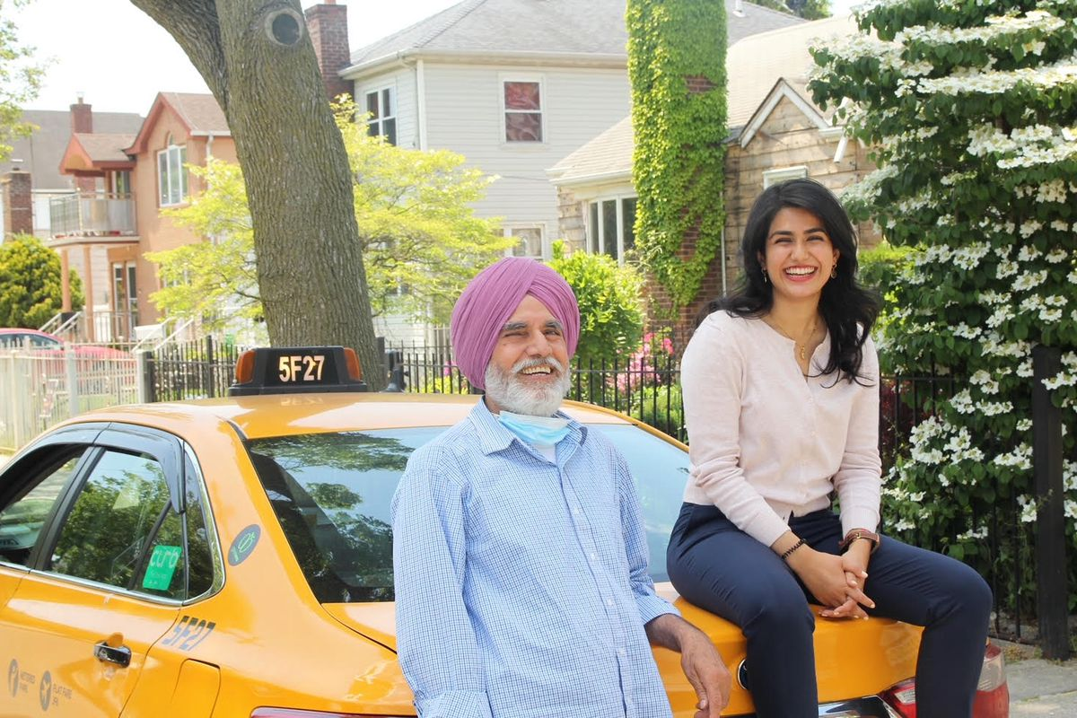 Queens City Council candidate Jaslin Kaur Garners has been an advocate for helping taxi and livery drivers in part because of seeing her father's financial struggles.