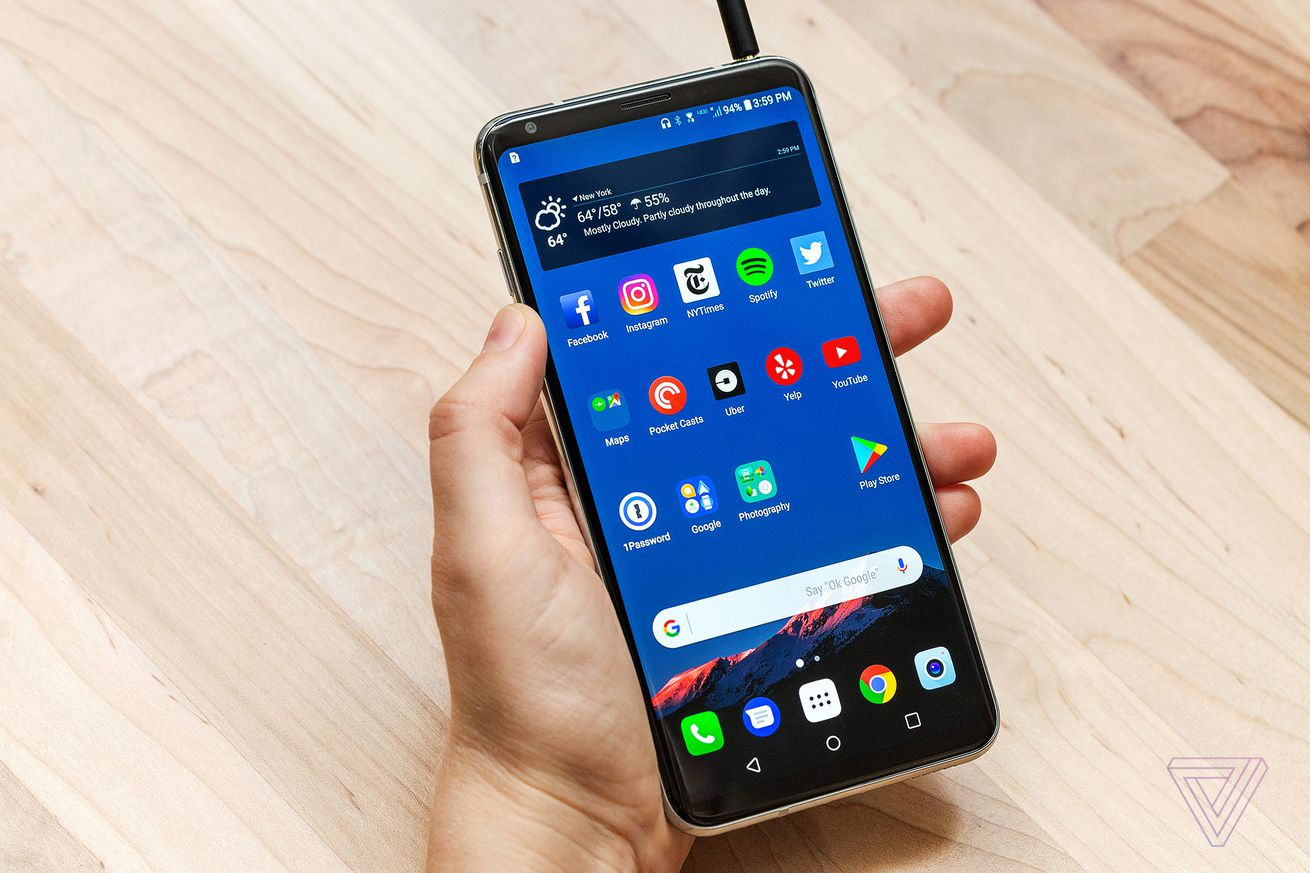 lg is rolling out android oreo to v30 phones on verizon