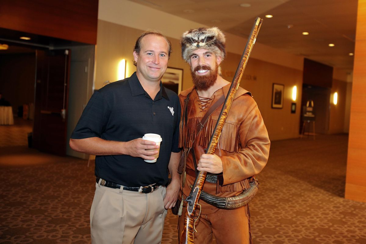 West Virginia and Dana Holgorsen will be right at home in the Big 12. This picture had to be used. There was no other option.