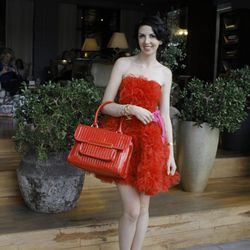 """Meghan Brocks of <a href=""""voila-meghan.blogspot.com"""">Voila!</a> gets even more glam on day two of FABB."""
