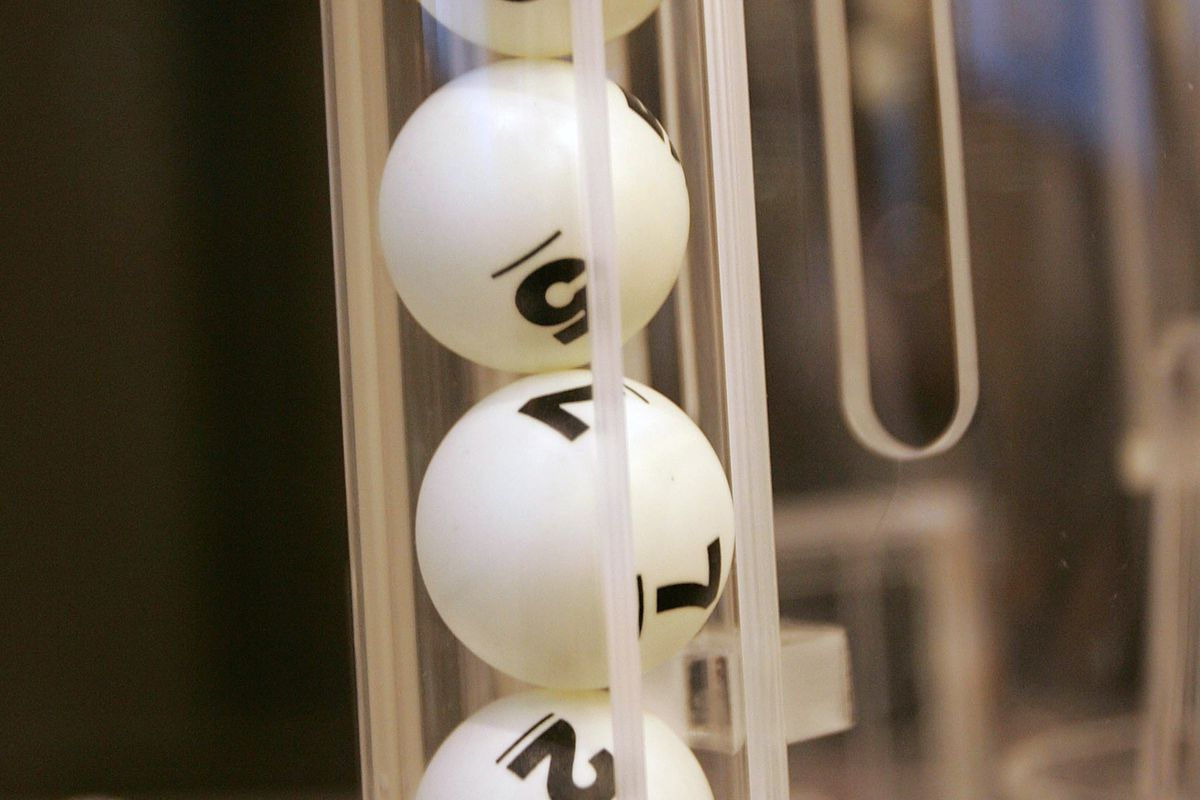NEW YORK - APRIL 07: The final order of balls '2756' rest in the lottery machine during the 2008 NHL Draft Drawing on April 7, 2008 at the National Hockey League headquarters in New York City