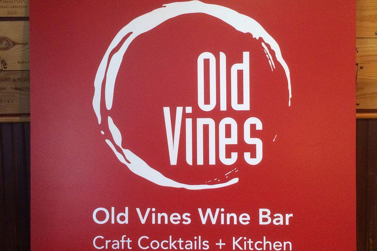Old Vines' new logo.