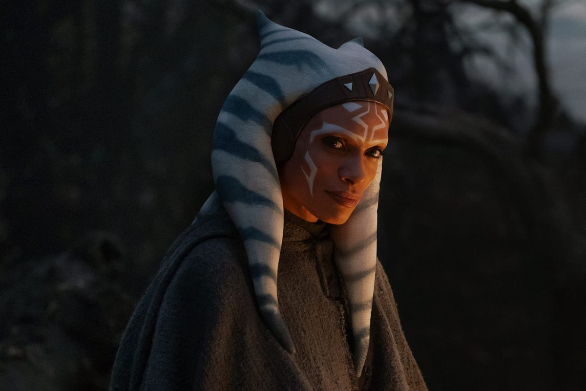 """Rosario Dawson — the actress who plays the live-action version of Ahsoka Tano — recently told StarWars.com that she would be interested in returning to the """"Star Wars"""" franchise as Ahsoka Tano. Dawson showed off how her makeup process worked to make her into Ahsoka Tano."""