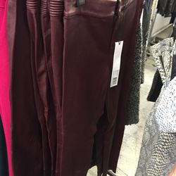 Leather pants, $375 (were $996)