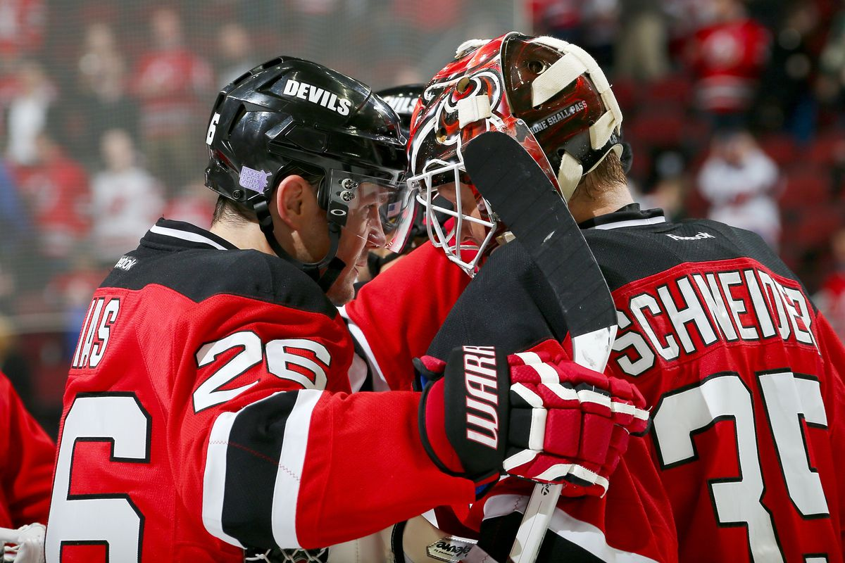 Cory Schneider deserved the hugs and congratulations from his teammates and the cheers from those in the stands tonight.