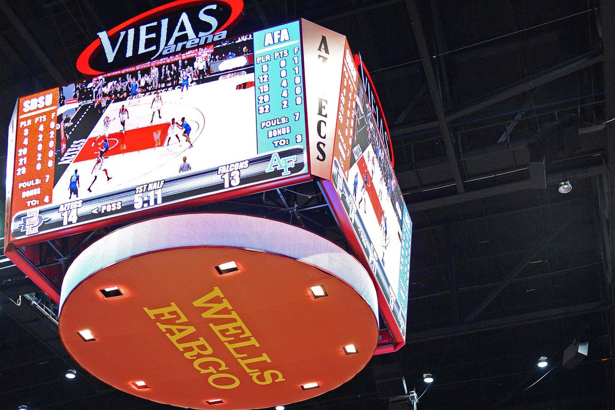 NCAA Basketball: Air Force at San Diego State