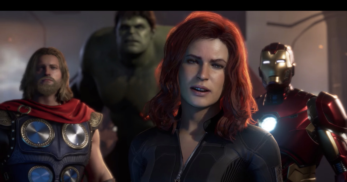 The Avengers game creators hint at how they'll make Black Widow fun