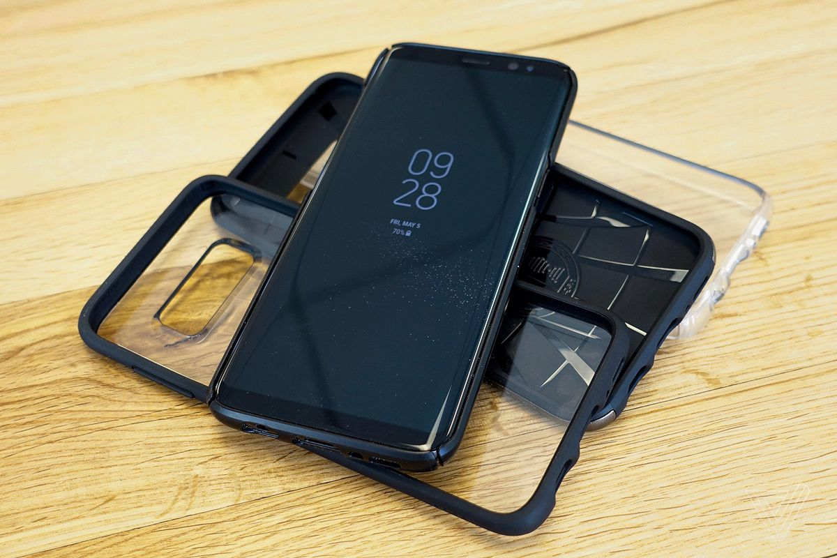 The Galaxy S8s Beautiful Design Means A Good Case Is Hard To Find Spigen Ultra Hybrid S Series Samsung Note 8 Original Im Normally Not Phone Person But Few Factors Made Me Decide I Should Get One For S8 Trust That Its Any More Fragile Than Other
