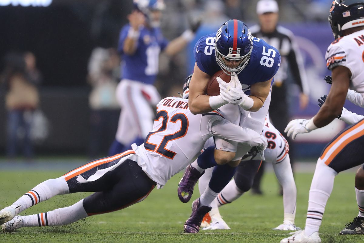 Bears vs Giants: 3 things I'll be watching for tonight