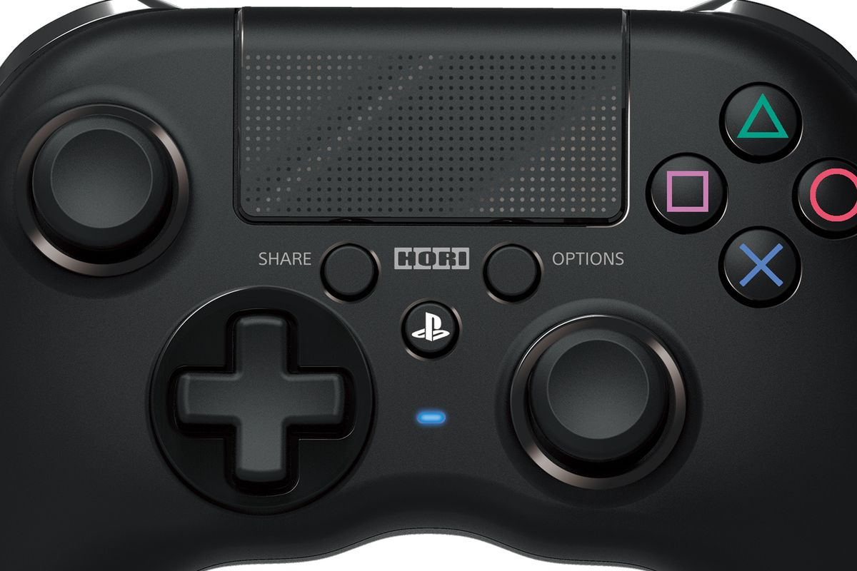 Hori Releasing A Ps4 Controller For People Who Prefer Xbox Controllers Polygon