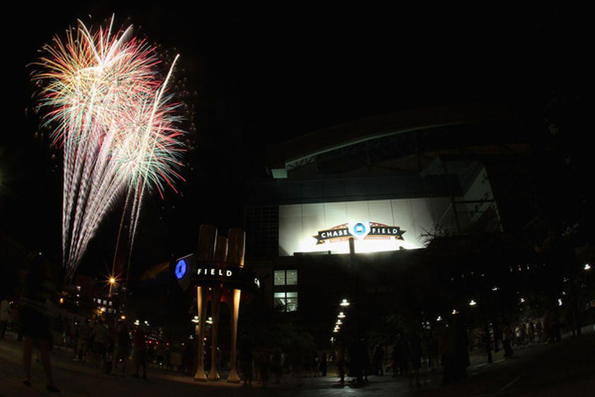 Matt Kemp's home run last night accidentally ignited a series of explosives in the Phoenix area