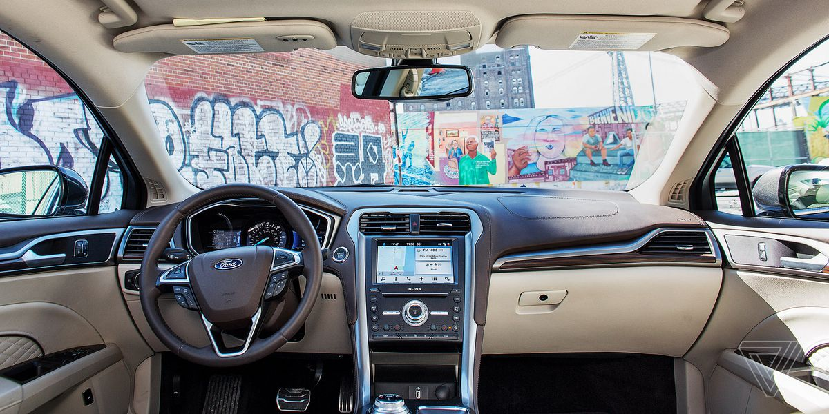 ScreenDrive: 2017 Ford Fusion Energi is the first car with