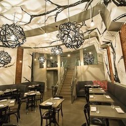 """<a href=""""http://ny.eater.com/archives/2012/11/tribeca_canvas_morimotos_american_comfort_food_restaurant.php"""">Eater Inside: Tribeca Canvas</a>"""