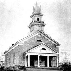 The Bountiful Tabernacle in a file photo from the late 1800s.