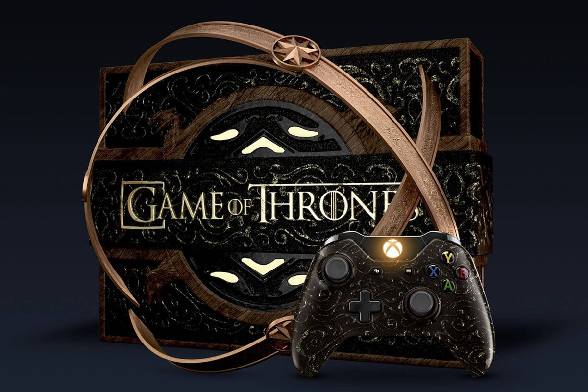 This Game Of Thrones Xbox One Special Edition Looks Like A