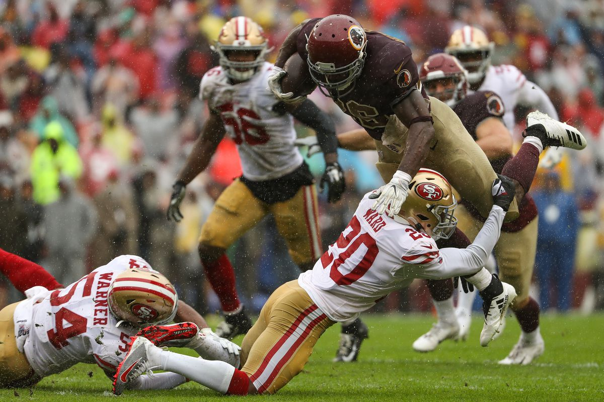 San Francisco 49ers vWashington Redskins