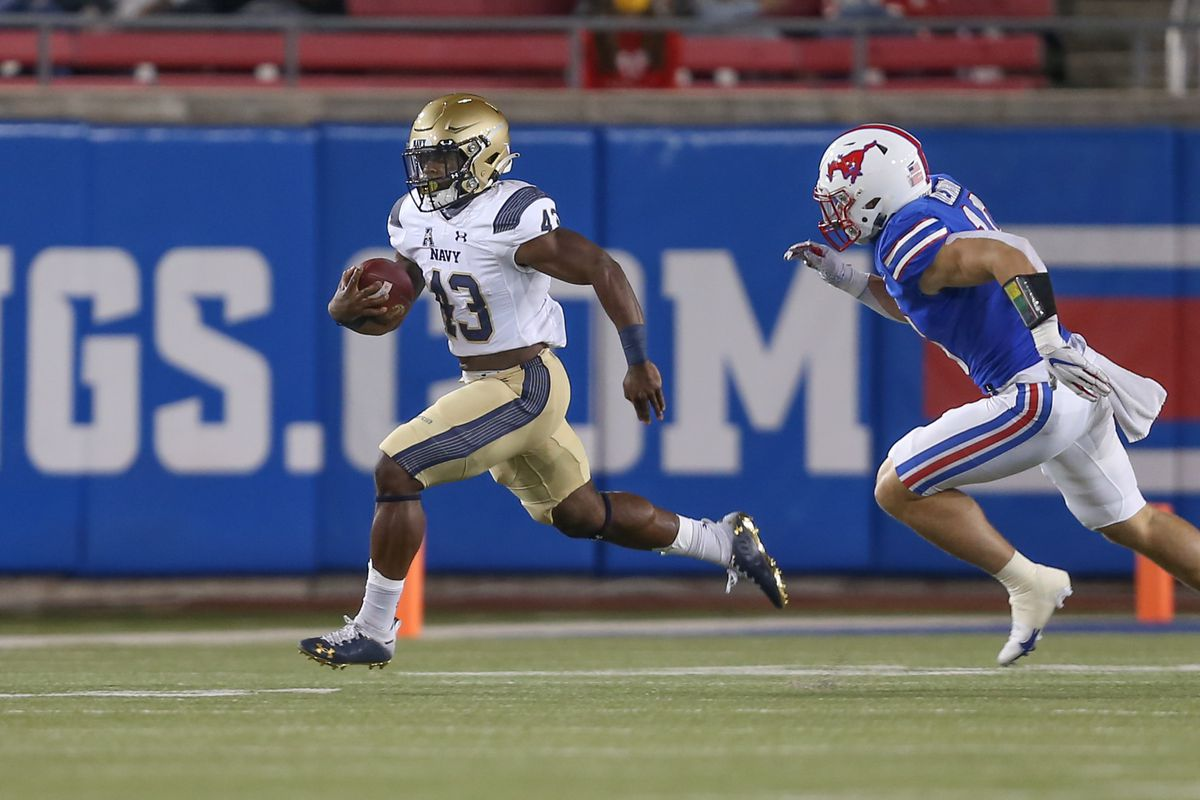 COLLEGE FOOTBALL: OCT 31 Navy at SMU