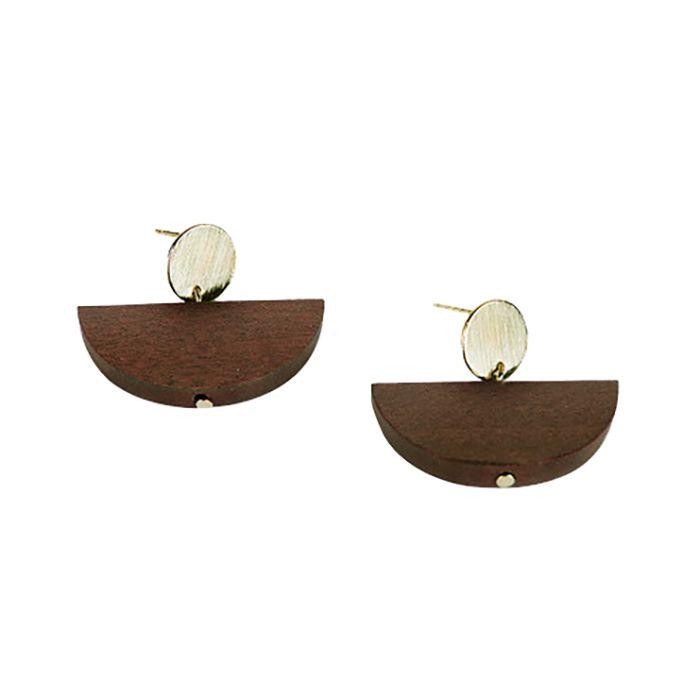 Oak + Fort Olive Earring