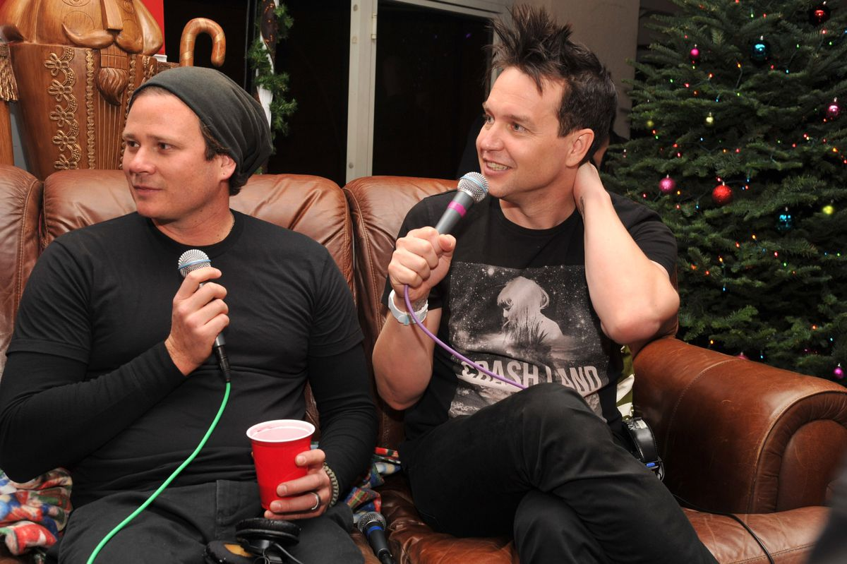22nd Annual KROQ Almost Acoustic Christmas Concert - Backstage - Day 1