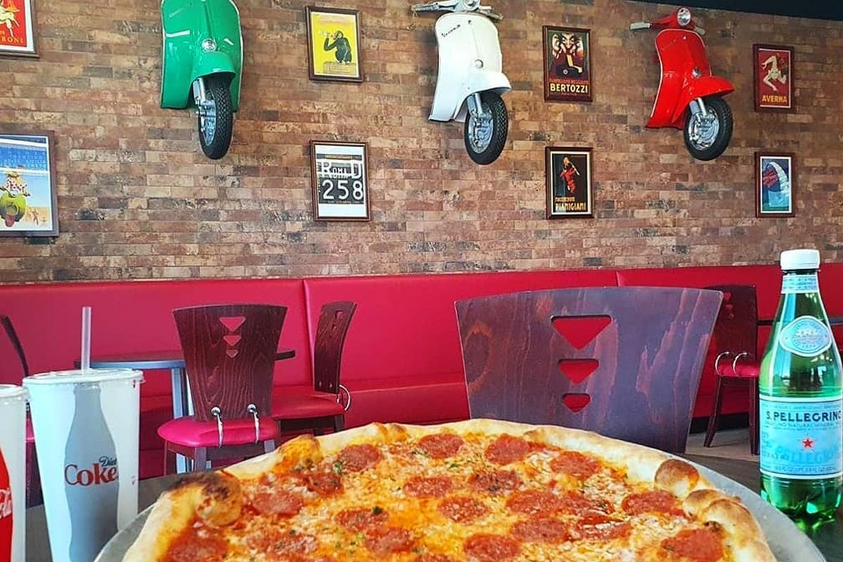The interior of the original Martino's Italian Kitchen serving the Rhodes Ranch neighborhood since earlier this year.
