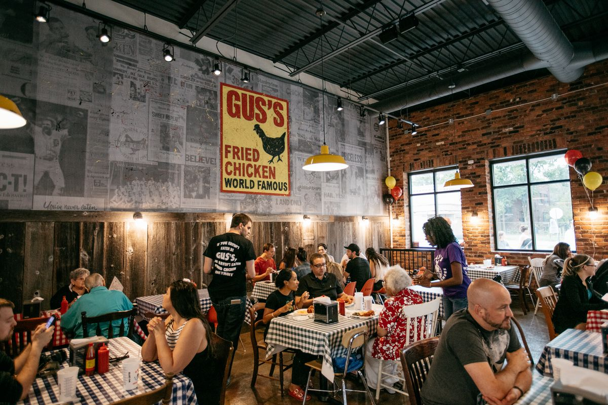 gus's world famous fried chicken detroit