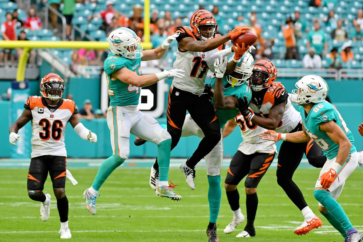 NFL: Cincinnati Bengals at Miami Dolphins