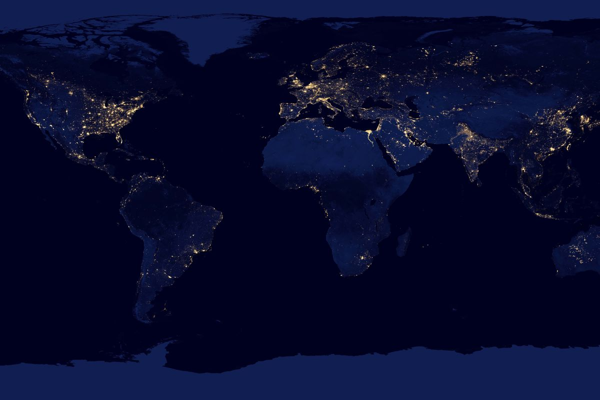 Satellite Images Of Earth Help Us Predict Poverty Better Than Ever - Noaa world satellite map