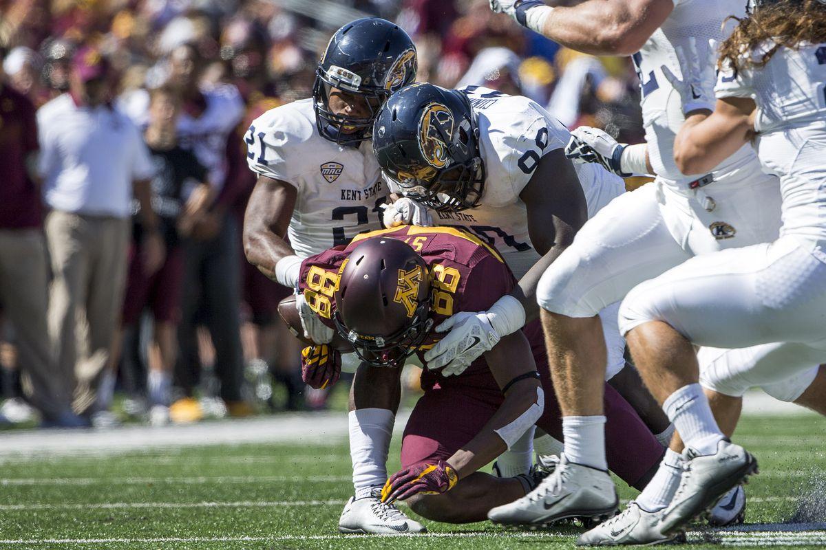 NCAA Football: Kent State at Minnesota