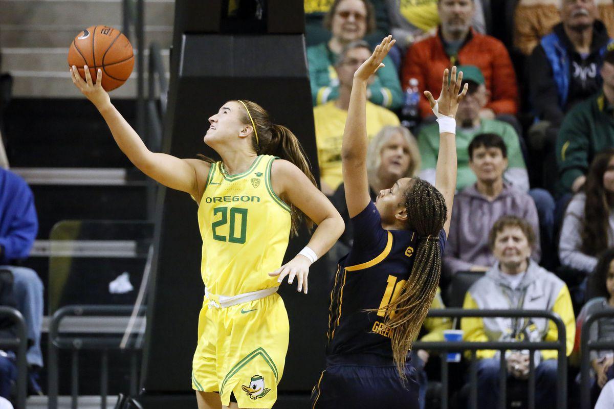NCAA Womens Basketball: California at Oregon