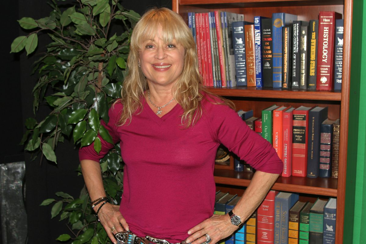 Mari Winsor poses for a photograph in New York in 2005.