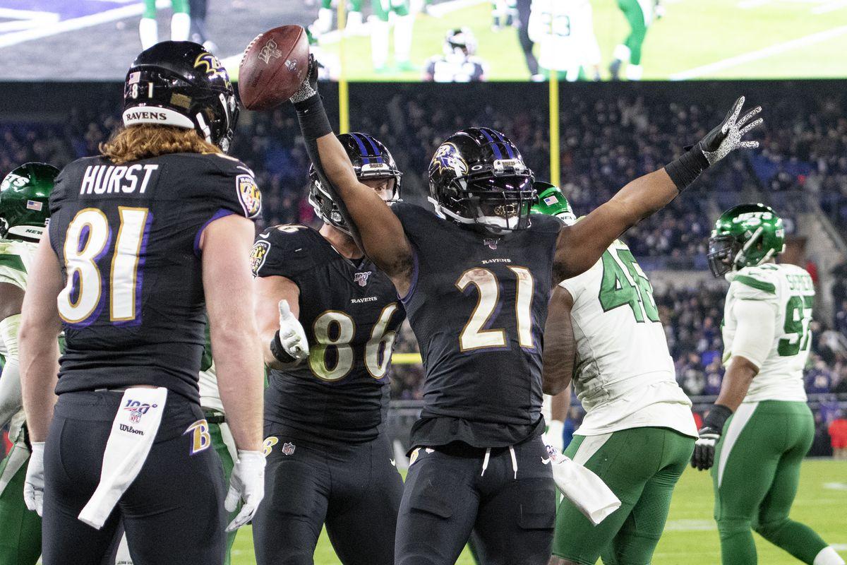NFL: New York Jets at Baltimore Ravens