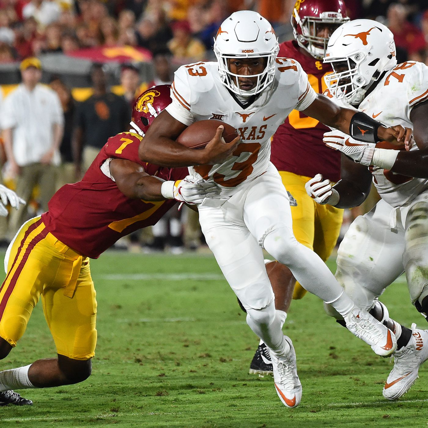 USC vs  Texas 2018 live stream: Time, TV channel, pick