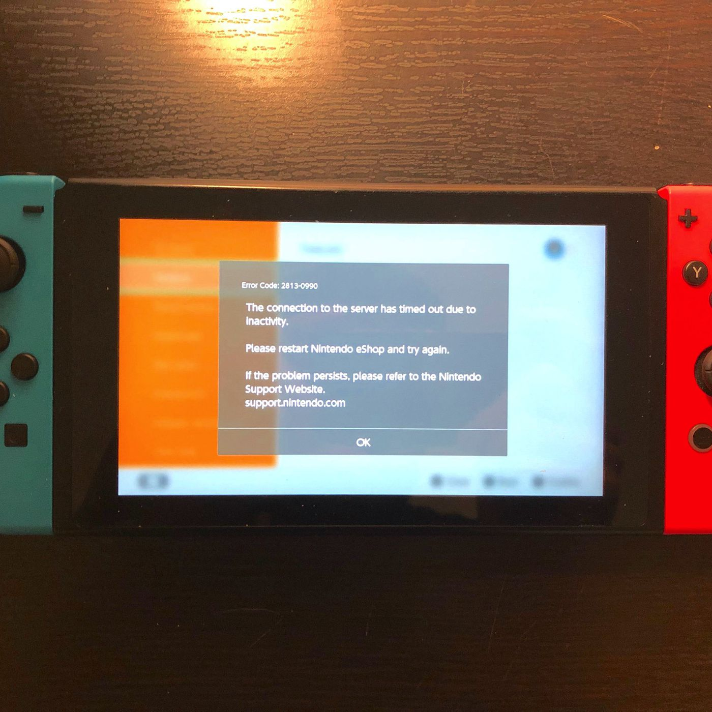 Network Failure When Attempting To Check Server Status Fortnite Nintendo S Switch Online Service Experienced A Nearly Nine Hour Outage The Verge