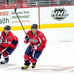 Johansson and Ovechkin