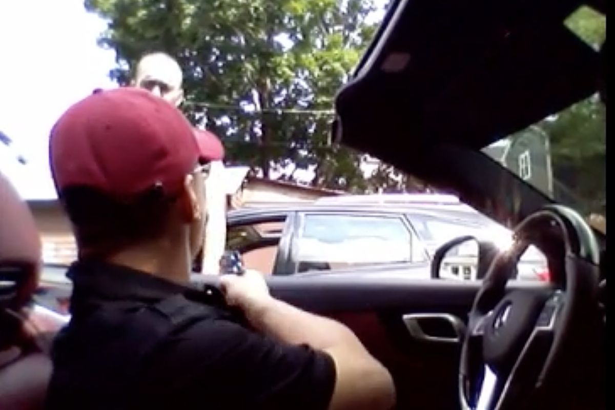 """Thaddeus """"T.J."""" Jimenez was caught on a cellphone video shooting Earl Casteel in the legs on Aug. 17, 2015, in Irving Park. The video, which went viral, was shown during Jimenez's trial in federal court."""