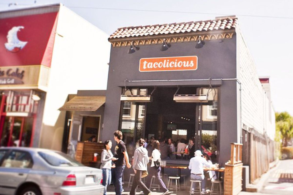 Tacolicious in the Marina.