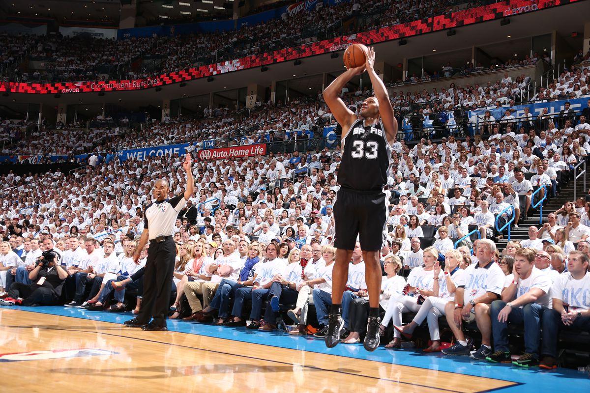 San Antonio Spurs vs Oklahoma City Thunder - Western Conference Finals - Game 6
