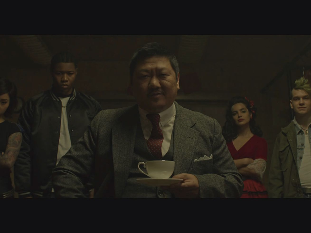 A still from Deadly Class on SyFy