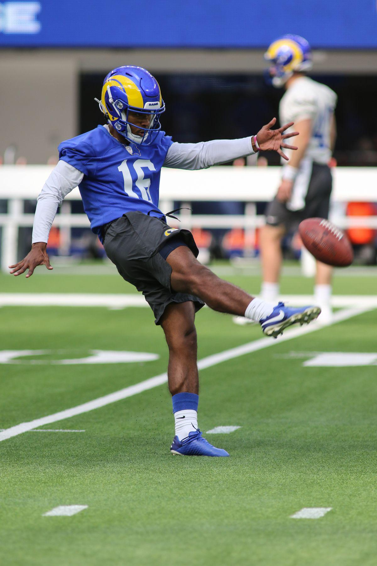 NFL: JUN 10 Rams Practice
