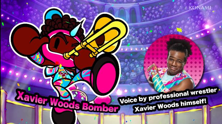 Xavier Woods in Super Bomberman R
