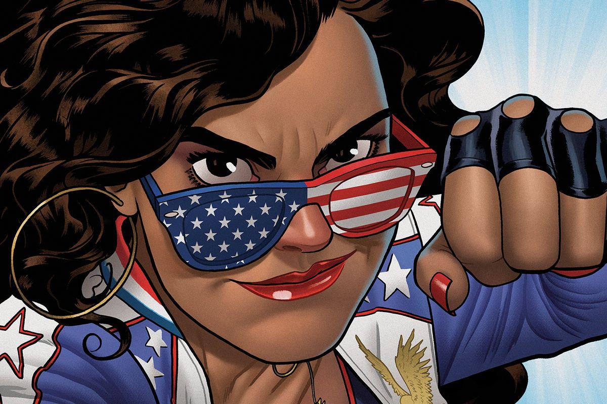 America Chavez, the Marvel superhero known as Miss America.