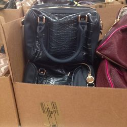 Deux Lux snakeskin print purse, $59