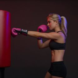 """It was a close contest —with more than 7000 votes cast— but <b>Erica Stenz</b> from <b>Barry's Bootcamp</b> knocked out the competition to win the title of Hottest Trainer 2014. This <a href=""""http://sf.racked.com/archives/2014/08/27/erica-sten"""