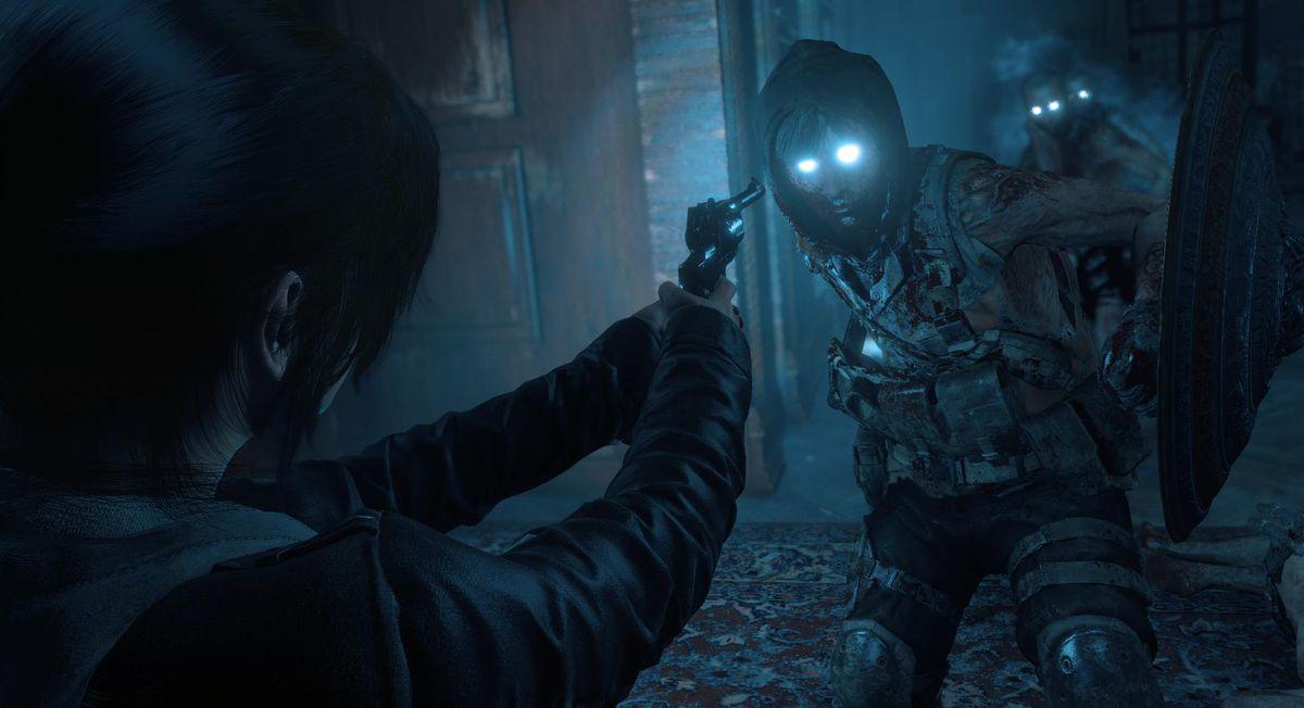 Rise of the Tomb Raider: Lara's Nightmare - Lara zombie screenshot 1920