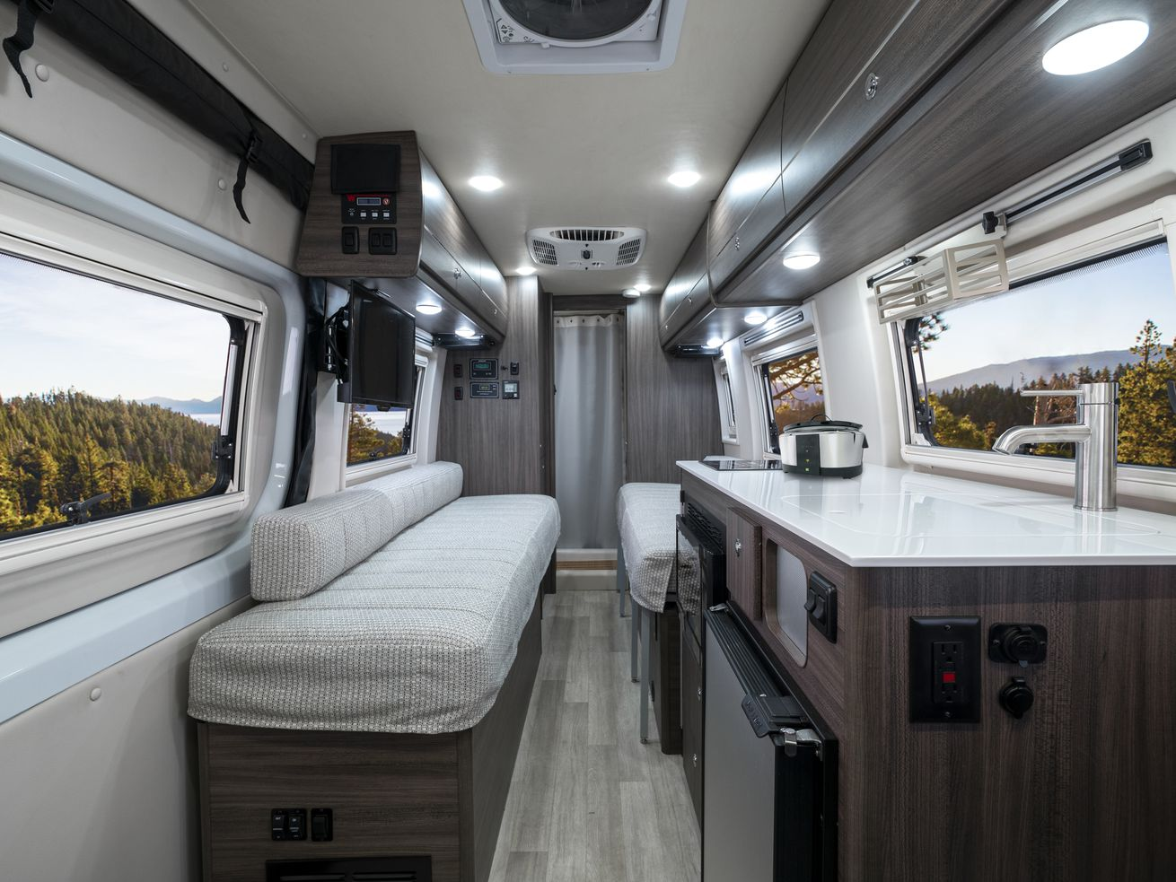 Winnebago?s new camper van is prepped for off-grid adventure