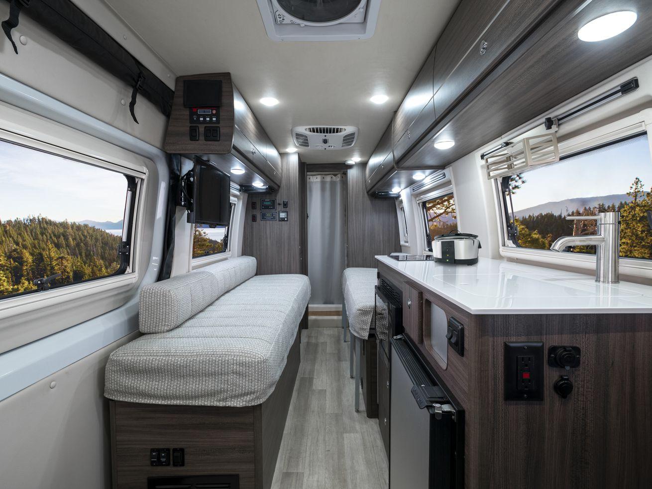 Winnebago?s new camper van is prepped for off-grid adventure
